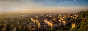 In the morning (Bergamo) by qwstarplayer