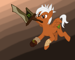 Riven Pony Contest Entry by anotherMongoose