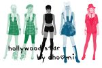 holywood stars by chomi007
