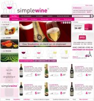Site : SimpleWine.com by Diabloracing