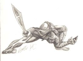 Halo2 comp Drawing by MikeErty