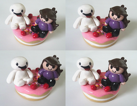 James And Jaiden Clay Figure~ by xxPandaGirl16xx