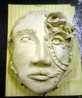 Clay Face 1_Surrealism by tonieliemariae