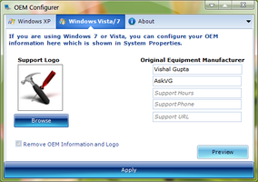 OEM Configurer for Windows by Vishal-Gupta