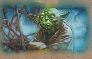 Jedi Master Yoda by JeffLafferty