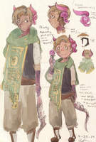 OC: Peony's Reference by Kaniriou