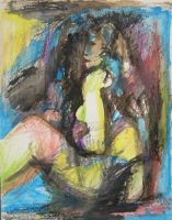 Sitting Woman 2 by schachay