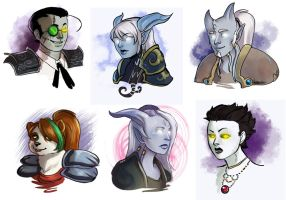 [commission] wow busts 6 by SirMeo