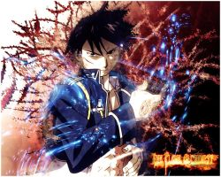 Roy Mustang Wallpaper by lotras