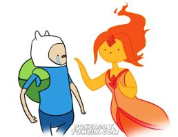Fp and Finn by Pokeaday