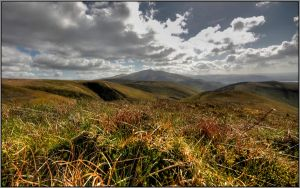 Looking Southwest to Skiddaw by Rebacan