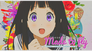 [Firma] Made to fly ~ by xBlue-Editions