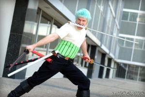 Zoro from One Piece by BOiKEM