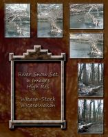 River snow set wicasa-stock by Wicasa-stock