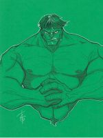 Hulk by Hodges-Art