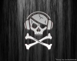Piracy wallpaper by luciferrebirth