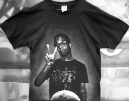 Kid Cudi T-shirt by Gcrackle1