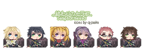 Owari no Seraph icon [ FREE TO USE ] by Q-Jaaku