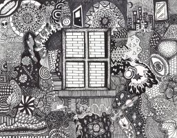 Window To The Imagination by philophobiaphorever