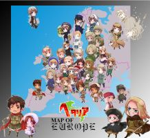 APH: Map of Europe by Zal001