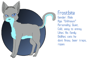 Frostbite Reference Sheet by Ask--Stonefur