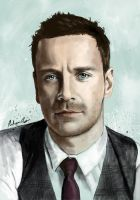 Michael Fassbender by bec1989