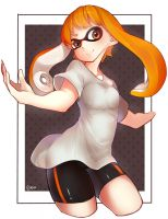 Inkling Girl - Splatoon (request) by Yuzas
