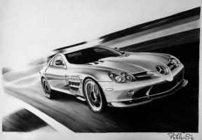 Mercedes SLR by smudlinka66