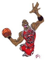 His Airness by SketcheeBizniz