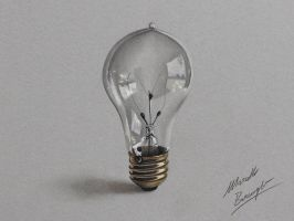 Lightbulb by marcellobarenghi