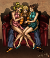 Commish - Naruto 3-Way by BananaWork