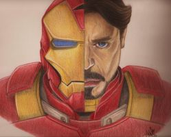 IRON MAN Vs ROBERT DOWNEY Jr by PIERNODOYUNA