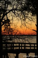 Riverfront Park Sunset 2 by poetcrystaldawn