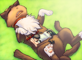 Afternoon Nap by Mikan-no-Tora