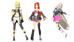 MMD DT Pack 4 Download by willianbrasil