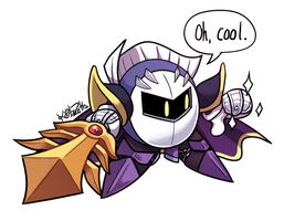 Meta Knight Returns by kaibuzetta