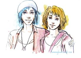 Max and Chloe by TommieGlenn