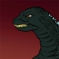 Godzilla Avatar Animated by SeanRM