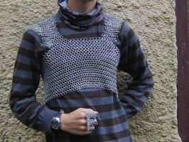 WIP- Chainmaille Shirt, Front by kingtut98