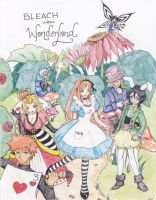 Bleach in Wonderland by Koharu-pyon