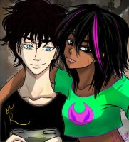 Alec and Aisha by LinaLeeZ