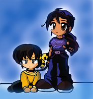 Chibi Ryoga And Me by RyogaFan4Ever