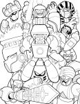 Fire-Type Robot Masters by Thormeister