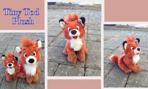 Tiny Tod plush by Laurel-Lion