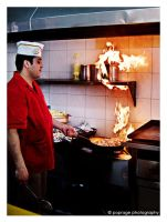 The Cook by poprage