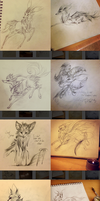 instagram sketches by quickspace