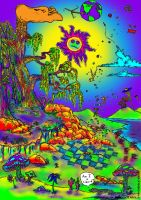 Psychedelic Conditions Color by Edd1ZzLe