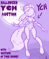 Halloween YCH auction pose 1 by Sallyhot