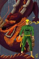 immortal Iron Fist by leseraphin