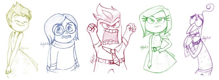 Inside Out: Voices inside your head by Antych